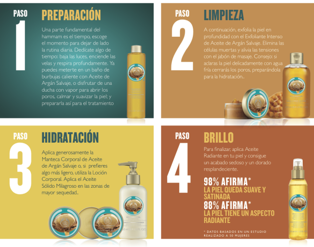 New products with argan oil from the body shopfriendly madrid - The body shop madrid ...